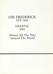 Frederick (LST 1184) - Naval Cruise Book online yearbook collection, 1983 Edition, Page 5