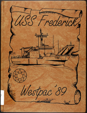 Frederick (LST 1184) - Naval Cruise Book online yearbook collection, 1989 Edition, Page 1