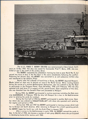 Page 4, 1964 Edition, Fred Berry (DDE 858) - Naval Cruise Book online yearbook collection
