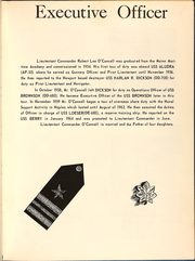 Page 9, 1964 Edition, Fred Berry (DDE 858) - Naval Cruise Book online yearbook collection