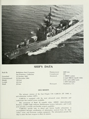 Page 5, 1976 Edition, Garcia (FF 1040) - Naval Cruise Book online yearbook collection