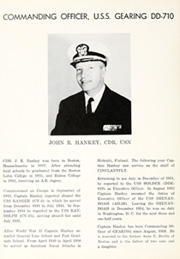 Page 10, 1960 Edition, Gearing (DD 710) - Naval Cruise Book online yearbook collection
