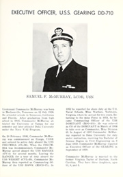 Page 11, 1960 Edition, Gearing (DD 710) - Naval Cruise Book online yearbook collection