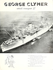 Page 5, 1955 Edition, George Clymer (APA 27) - Naval Cruise Book online yearbook collection