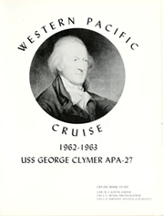 Page 5, 1963 Edition, George Clymer (APA 27) - Naval Cruise Book online yearbook collection