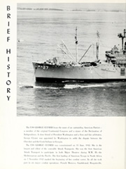 Page 6, 1963 Edition, George Clymer (APA 27) - Naval Cruise Book online yearbook collection