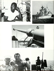 Page 12, 1985 Edition, George Philip (FFG 12) - Naval Cruise Book online yearbook collection