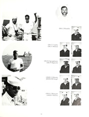 Page 15, 1985 Edition, George Philip (FFG 12) - Naval Cruise Book online yearbook collection