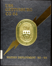 Page 1, 1993 Edition, Gettysburg (CG 64) - Naval Cruise Book online yearbook collection