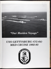 Page 6, 1993 Edition, Gettysburg (CG 64) - Naval Cruise Book online yearbook collection