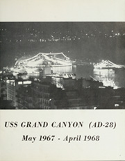 Page 7, 1968 Edition, Grand Canyon (AD 28) - Naval Cruise Book online yearbook collection