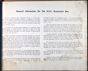 Page 3, 1950 Edition, Greenwich Bay (AVP 41) - Naval Cruise Book online yearbook collection
