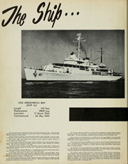 Page 8, 1951 Edition, Greenwich Bay (AVP 41) - Naval Cruise Book online yearbook collection