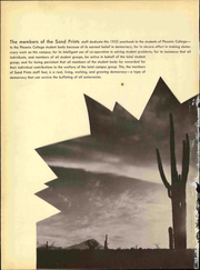 Page 6, 1952 Edition, Phoenix College - Sandprints Yearbook (Phoenix, AZ) online yearbook collection