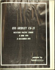 Page 5, 1976 Edition, Gridley (CG 21) - Naval Cruise Book online yearbook collection