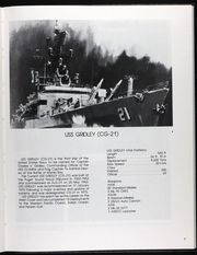 Page 12, 1989 Edition, Gridley (CG 21) - Naval Cruise Book online yearbook collection