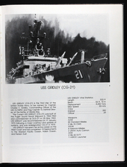 Page 13, 1989 Edition, Gridley (CG 21) - Naval Cruise Book online yearbook collection