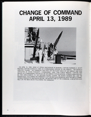 Page 16, 1989 Edition, Gridley (CG 21) - Naval Cruise Book online yearbook collection