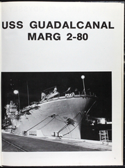 Page 5, 1980 Edition, Guadalcanal (LPH 7) - Naval Cruise Book online yearbook collection