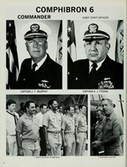 Page 10, 1987 Edition, Guadalcanal (LPH 7) - Naval Cruise Book online yearbook collection