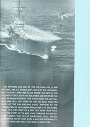 Page 5, 1966 Edition, Guam (LPH 9) - Naval Cruise Book online yearbook collection