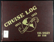 Page 1, 1953 Edition, Hailey (DD 556) - Naval Cruise Book online yearbook collection
