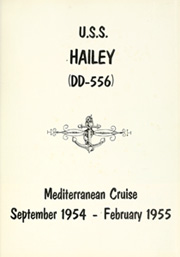 Page 5, 1955 Edition, Hailey (DD 556) - Naval Cruise Book online yearbook collection