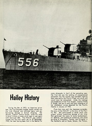 Page 6, 1955 Edition, Hailey (DD 556) - Naval Cruise Book online yearbook collection
