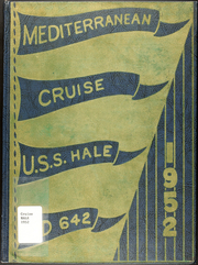 1952 Edition, Hale (DD 642) - Naval Cruise Book