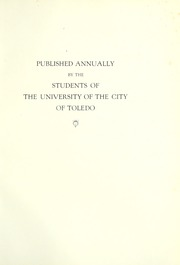 Page 9, 1923 Edition, University of Toledo - Blockhouse Yearbook (Toledo, OH) online yearbook collection