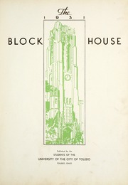 Page 9, 1931 Edition, University of Toledo - Blockhouse Yearbook (Toledo, OH) online yearbook collection