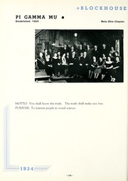 Page 114, 1934 Edition, University of Toledo - Blockhouse Yearbook (Toledo, OH) online yearbook collection