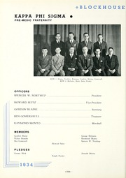 Page 118, 1934 Edition, University of Toledo - Blockhouse Yearbook (Toledo, OH) online yearbook collection