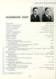 Page 122, 1934 Edition, University of Toledo - Blockhouse Yearbook (Toledo, OH) online yearbook collection