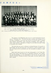 Page 123, 1934 Edition, University of Toledo - Blockhouse Yearbook (Toledo, OH) online yearbook collection