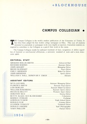Page 124, 1934 Edition, University of Toledo - Blockhouse Yearbook (Toledo, OH) online yearbook collection