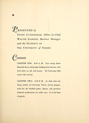 Page 7, 1935 Edition, University of Toledo - Blockhouse Yearbook (Toledo, OH) online yearbook collection