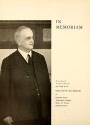 Page 8, 1935 Edition, University of Toledo - Blockhouse Yearbook (Toledo, OH) online yearbook collection