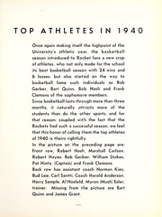 Page 15, 1940 Edition, University of Toledo - Blockhouse Yearbook (Toledo, OH) online yearbook collection