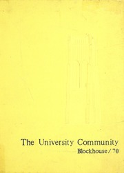 Page 1, 1970 Edition, University of Toledo - Blockhouse Yearbook (Toledo, OH) online yearbook collection