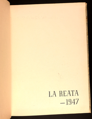 Page 5, 1947 Edition, Salinas Junior College - La Reata Yearbook (Salinas, CA) online yearbook collection