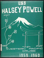 Page 1, 1960 Edition, Halsey Powell (DD 686) - Naval Cruise Book online yearbook collection