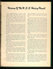 Page 5, 1960 Edition, Halsey Powell (DD 686) - Naval Cruise Book online yearbook collection