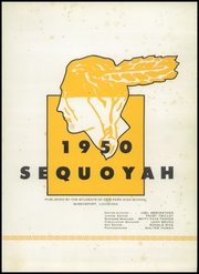 Page 5, 1950 Edition, Fair Park High School - Sequoyah Yearbook (Shreveport, LA) online yearbook collection