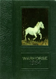 1984 Edition, Peabody High School - Warhorse Yearbook (Alexandria, LA)