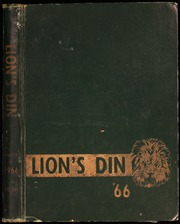 Page 1, 1966 Edition, Lafayette High School - Lions Din Yearbook (Lafayette, LA) online yearbook collection
