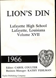 Page 5, 1966 Edition, Lafayette High School - Lions Din Yearbook (Lafayette, LA) online yearbook collection