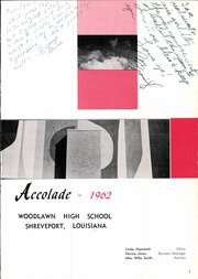 Page 5, 1962 Edition, Woodlawn High School - Accolade Yearbook (Shreveport, LA) online yearbook collection