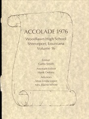 Page 7, 1976 Edition, Woodlawn High School - Accolade Yearbook (Shreveport, LA) online yearbook collection