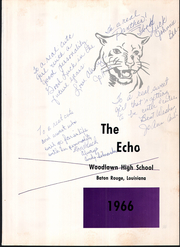 Page 5, 1966 Edition, Woodlawn High School - Echo Yearbook (Baton Rouge, LA) online yearbook collection